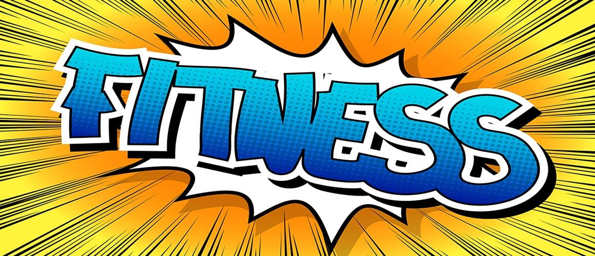 bigstock Fitness Comic book style wor 112810844